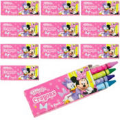 Minnie Mouse Crayon Boxes 12ct