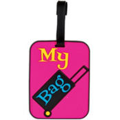 My Bag Pink Luggage Tag