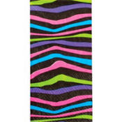 Colorful Zebra Facial Tissues