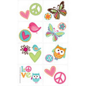 Hippie Chick Tattoos 16ct