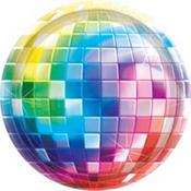 Disco Fever Dinner Plates 8ct