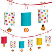 Fisher Price 1st Birthday Paper Lantern Garland 12ft