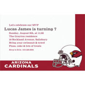 Arizona Cardinals Custom Invitation