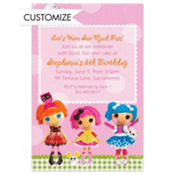 Lalaloopsy Custom Invitation