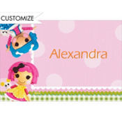 Lalaloopsy Custom Thank You Note