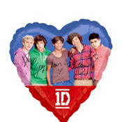 Foil One Direction Balloon 18in