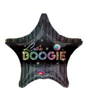 Foil Let's Boogie Balloon 18in