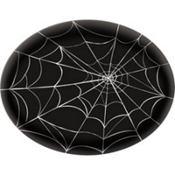 Spider Web Plastic Platter