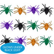 Neon Spiders 12ct