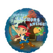 Foil Jake and the Never Land Pirates Balloon 18in