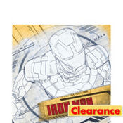 Iron Man Lunch Napkins 16ct