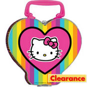 Neon Hello Kitty Tin Box