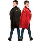 Child Reversible Batman to Superman Cape