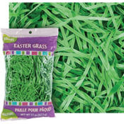 Forest Green Plastic Easter Grass