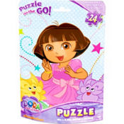 Dora the Explorer Puzzle Bag 24pc
