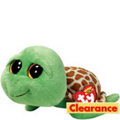 Zippy Beanie Boo Turtle Plush