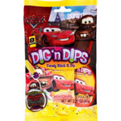 Cars Candy Sticks & Dips 8ct