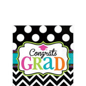 Dream Big Graduation Beverage Napkins 125ct