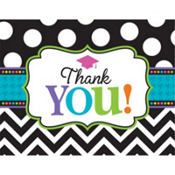 Bright Congrats Graduation Thank You Notes 50ct