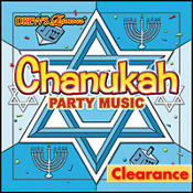 Hanukkah Party Music CD