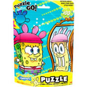 SpongeBob Puzzle Bag 100pc
