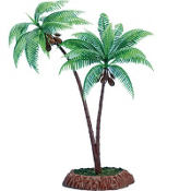 Plastic Palm Tree Centerpiece 13in