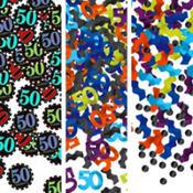 Celebrate 50th Birthday Confetti 1.2oz
