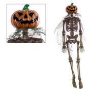 Hanging Jack-o'-Lantern Skeleton