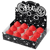 Black & White Dot Cupcake Box