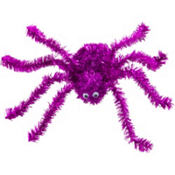 Pink Tinsel Spider