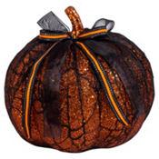 Lace Glitter Pumpkin