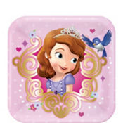 Sofia the First Dessert Plates 8ct