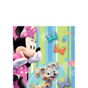 Minnie Mouse Beverage Napkins 16ct