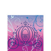 Cinderella Beverage Napkins 16ct