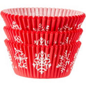 Snowman Baking Cups 75ct