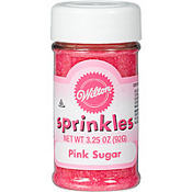 Pink Sugar Sprinkles 3.25oz