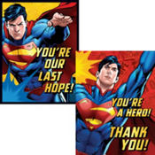 Superman Invitations & Thank You Notes for 8