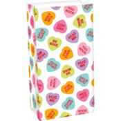Candy Hearts Treat Bag