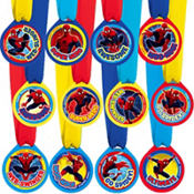 Spider-Man Award Medals 12ct
