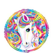 Lisa Frank Rainbow Horse Balloon