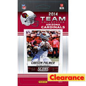 2014 Arizona Cardinals Team Cards 13ct
