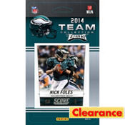 2014 Philadelphia Eagles Team Cards 13ct