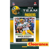 2014 Green Bay Packers Team Cards 13ct