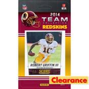 2014 Washington Redskins Team Cards 13ct