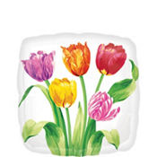 Spring Tulips Balloon