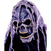 Open Mouth Hooded Skull Mask