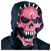 Red Demon Horror Mask