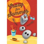 Crazy for Summer Olaf Magnet - Frozen