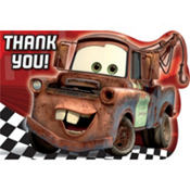 Cars Thank You Notes 8ct