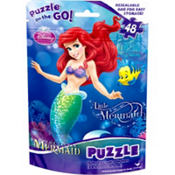 Disney Princess The Little Mermaid Puzzle Bag 48pc